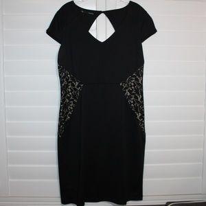 Maurices XL Illusion Sheath Dress